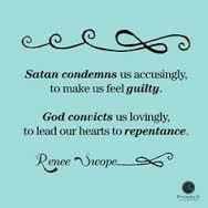 Satan condemns us